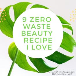 9 zero waste recipes blog graphic