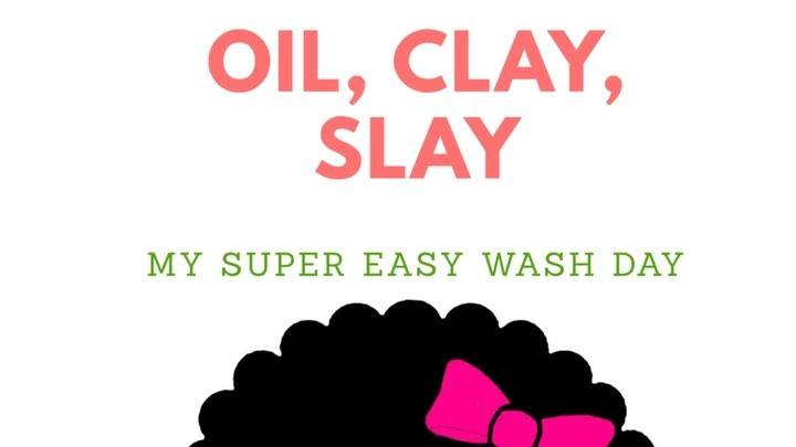 Y'all know wash day is real and can sometimes take FOREVER. . I've tried so many new products and watched tons of tutorials on YouTube but at this point... I keep it simple y'all. . . I'm a lazy natural and often times choose products and methods tha
