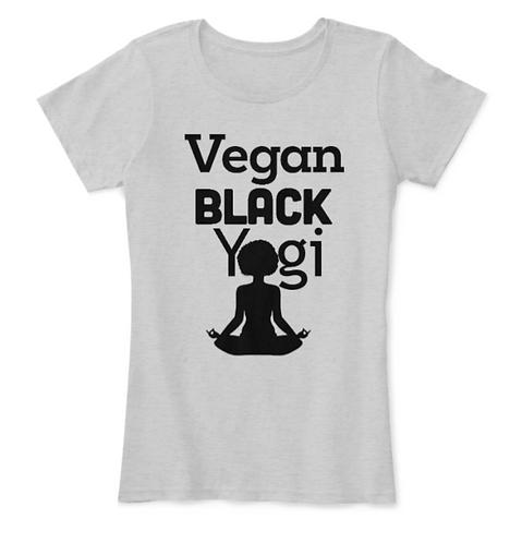 Vegan Black Yogi Comfort Tee