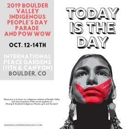 Boulder Valley Indigenous People's Day weekend countdown