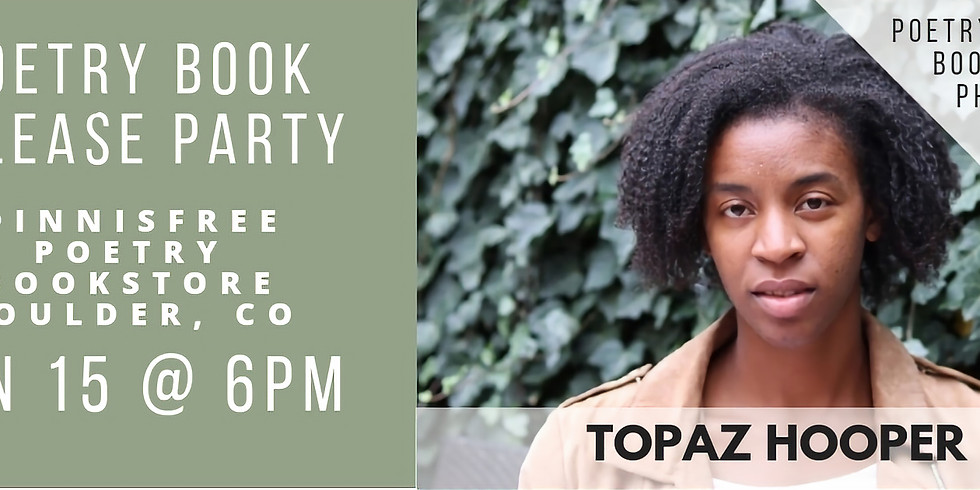 My Mind's Eye Poetry Book Release Party: Boulder