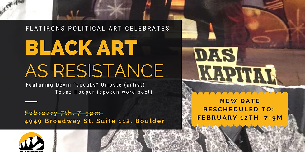 Black Art as Resistance
