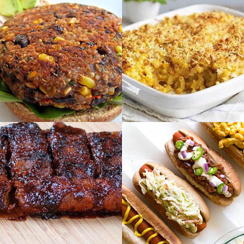 Vegan BBQ Cookout Recipes