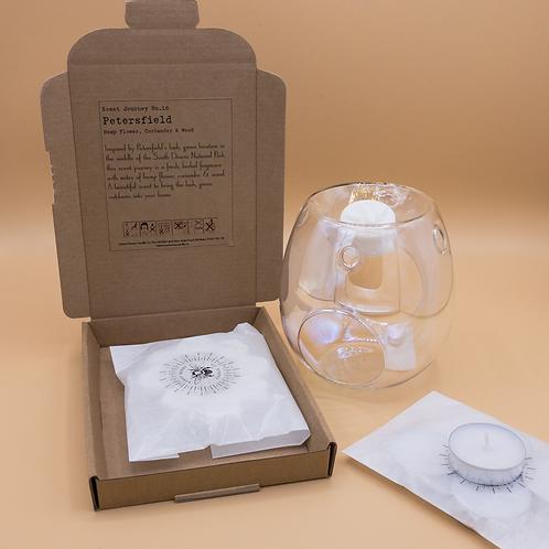 Glass Wax Hive Gift Set