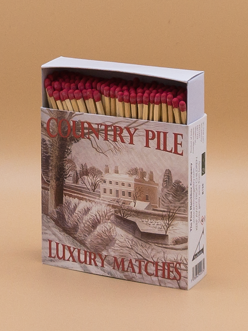 Country Pile Luxury Candle Matches