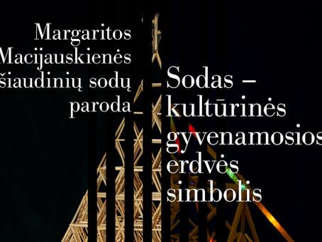 Klaipėdos mados ir verslo centre – Margaritos Macijauskienės personalinė sodų paroda