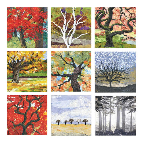 Tree Cards - Nine Pack
