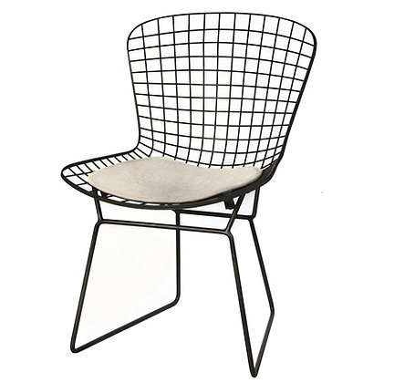 Stuhl Wire mit Sitzauflage
