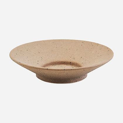 Teller Kerzenteller Sand