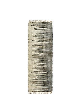 Teppich aus Jute und Baumwolle