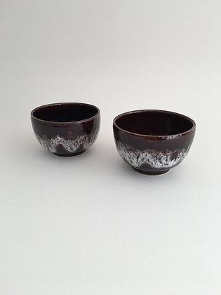 2er Set Japanische Teeschalen Vintage