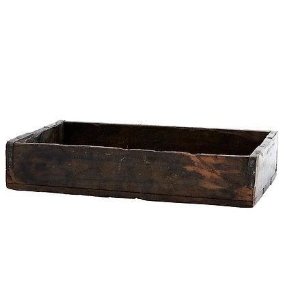 Ablage / Tablett recyceltes Holz 25x43cm