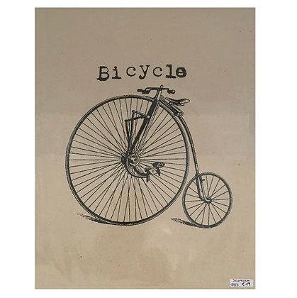 Poster Fahrrad