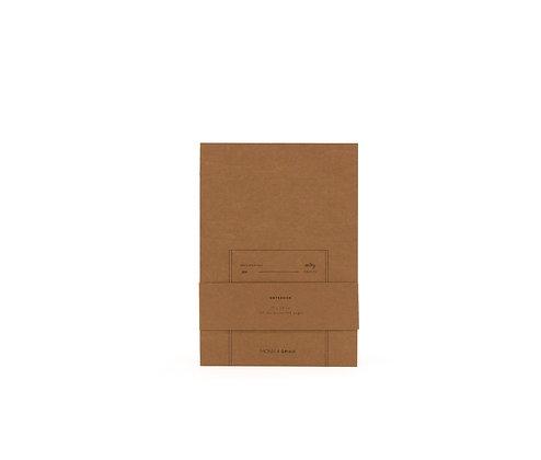 Notizbuch L - Kraftpapier