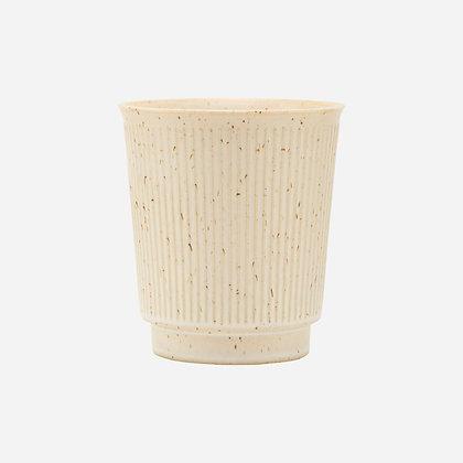 Keramikbecher Beige