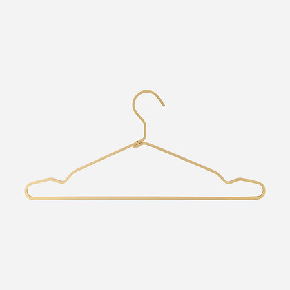 Kleiderbügel Alu Gold