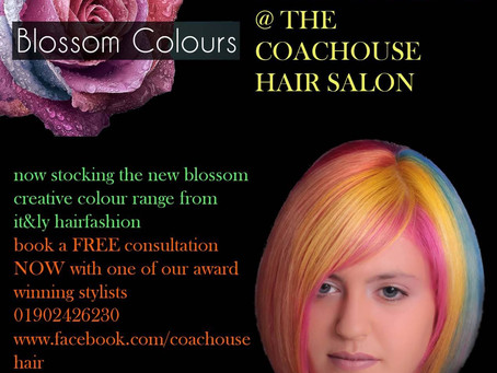INTRODUCING THE NEW BLOSSOM COLOUR RANGE