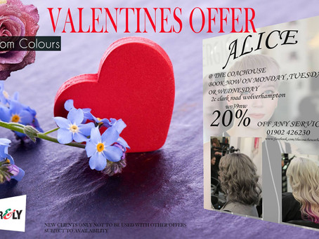 FEBRUARYS VALENTINES OFFERS