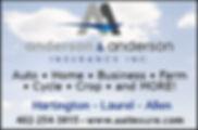 anderson & anderson insurance website ad