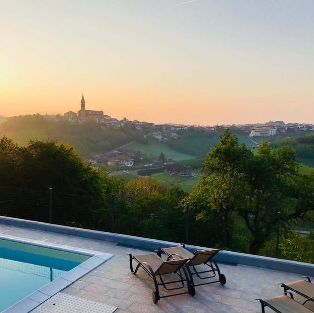 Sunrise in Priocca