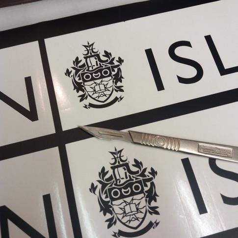 Cut Vinyl Graphics, Islington