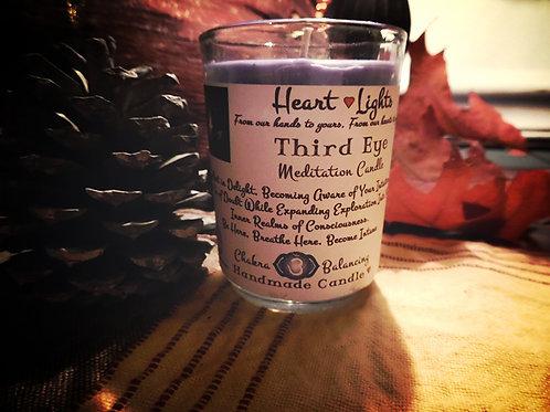 Third Eye ~ Chakra Balancing Candle