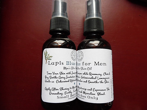 Lapis BLUE for Men  ~  Aftershave Oil