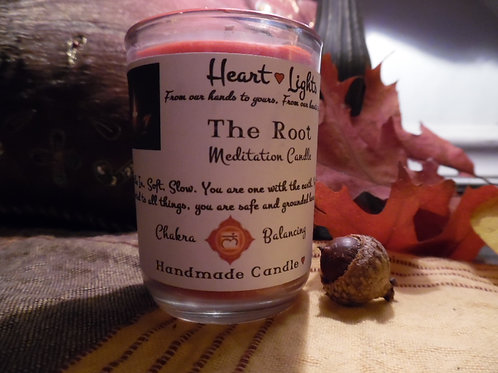 The Root ~ Chakra Balancing Candle