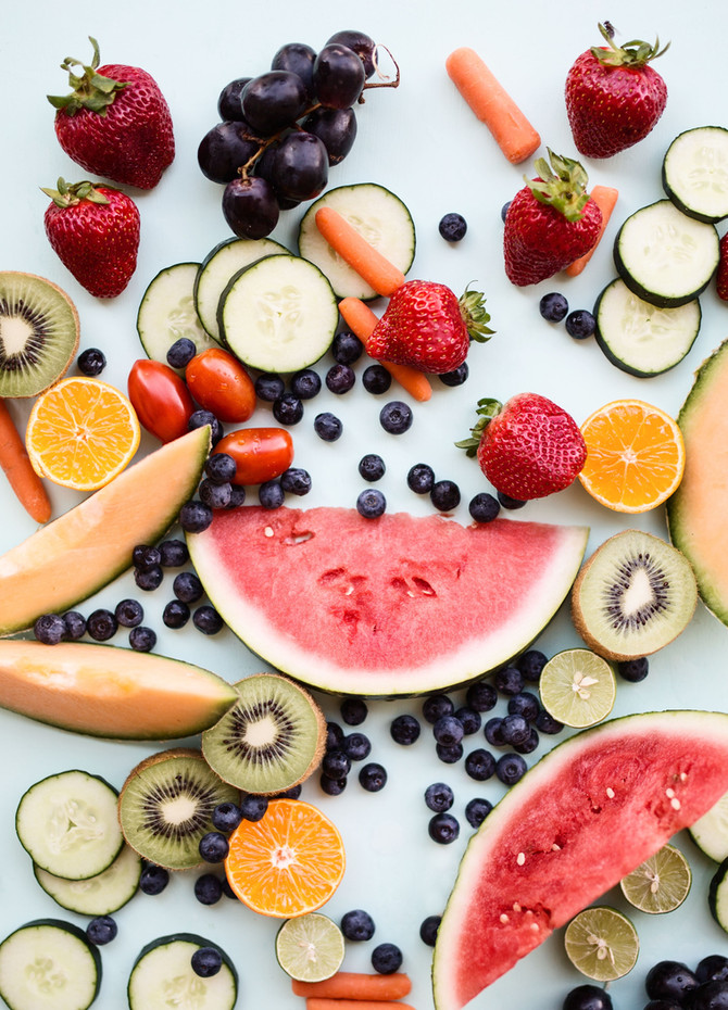 Need a Mood Boost? Eat This. + The Perfect Summer Fruit Salad