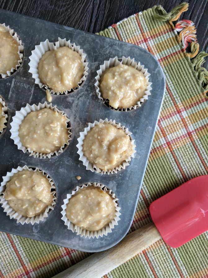 Gluten Free Banana Muffins