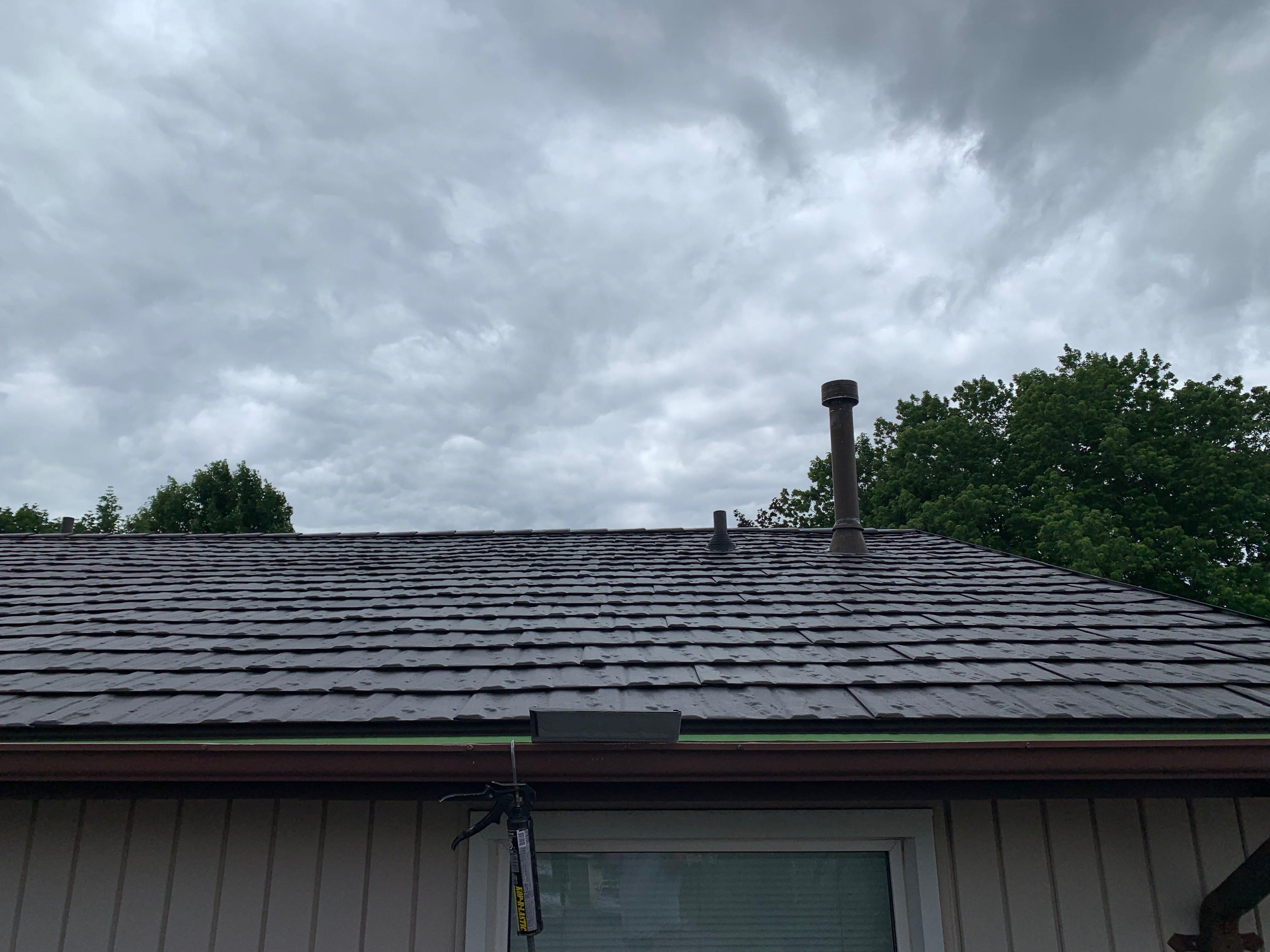 Espresso Brown Soteria Metal Roof