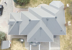 Fossil Grey Soteria Metal Roof
