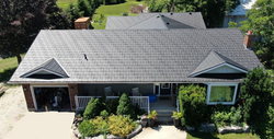 Sable Black Soteria Metal Roof