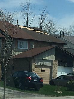 Toronto roof damage