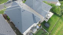 Sable Black Metal Roof