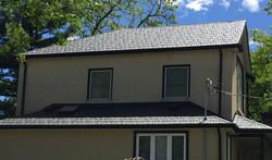 Sable Black Sotria Metal Roof