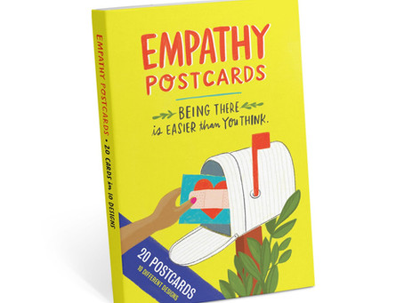 Empathy Postcard Book by Emily McDowell & Friends.  Love this!