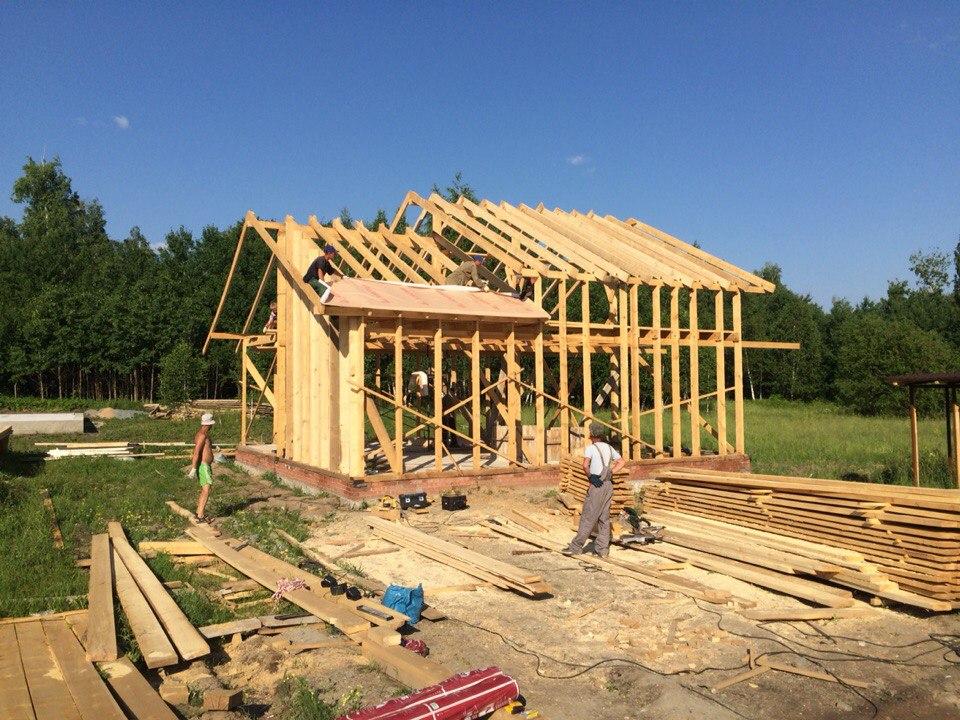 Строительство дома в пос. Близкий