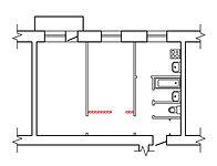 Расширить жилую комнату за счет коридора