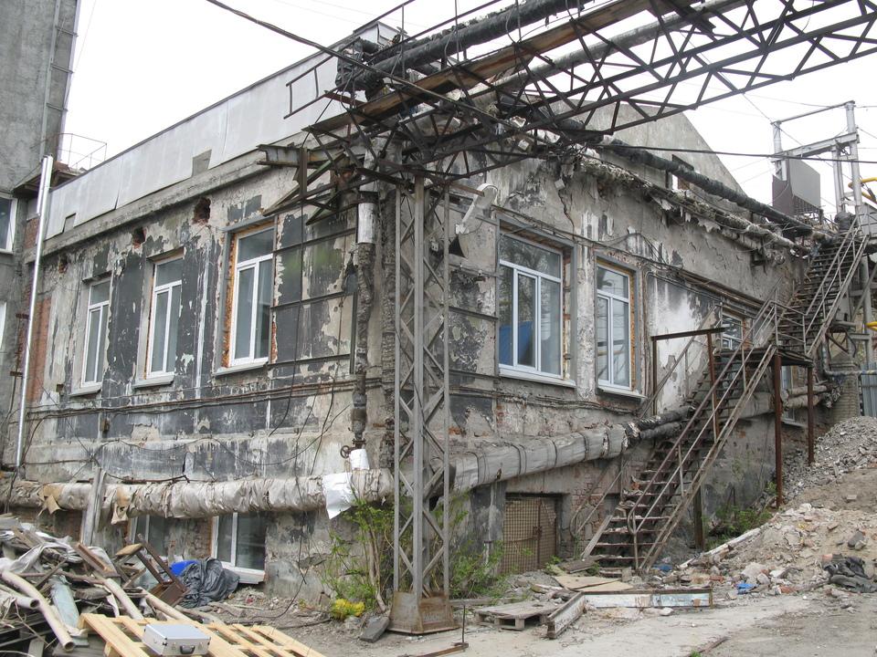 Экспертиза наружных стен здания