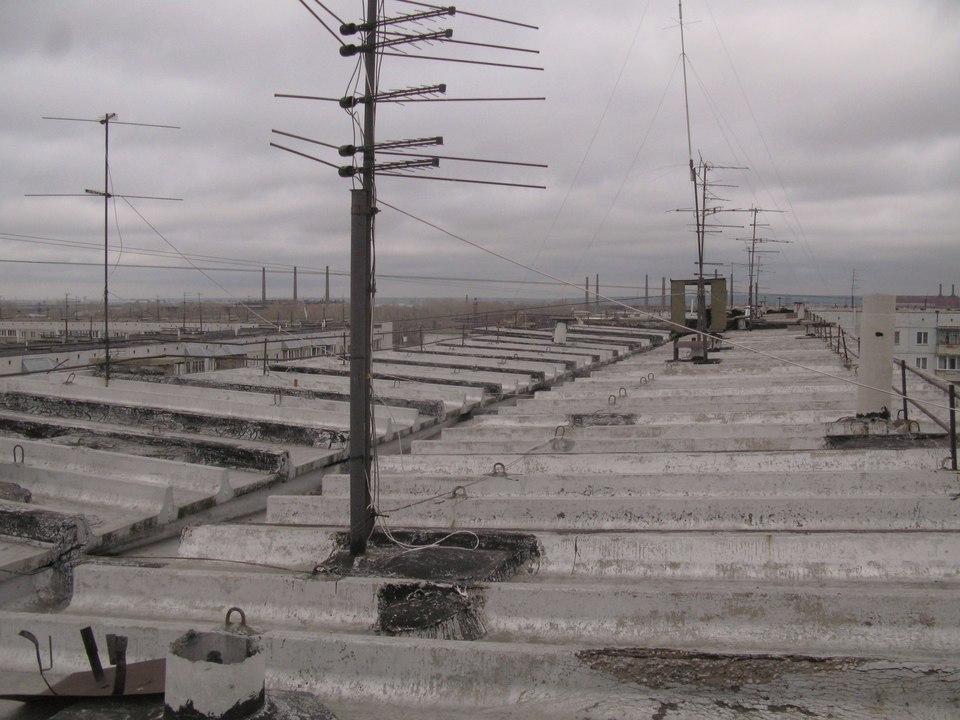 Экспертиза крыши дома по ул.Киевская