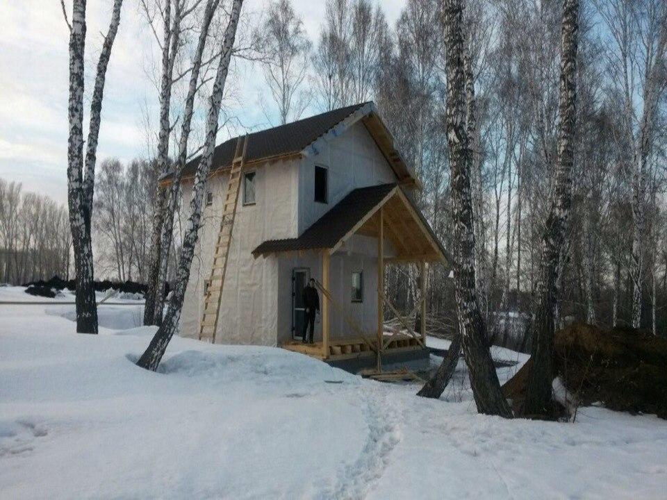 Строительство дома в СНТ Планета