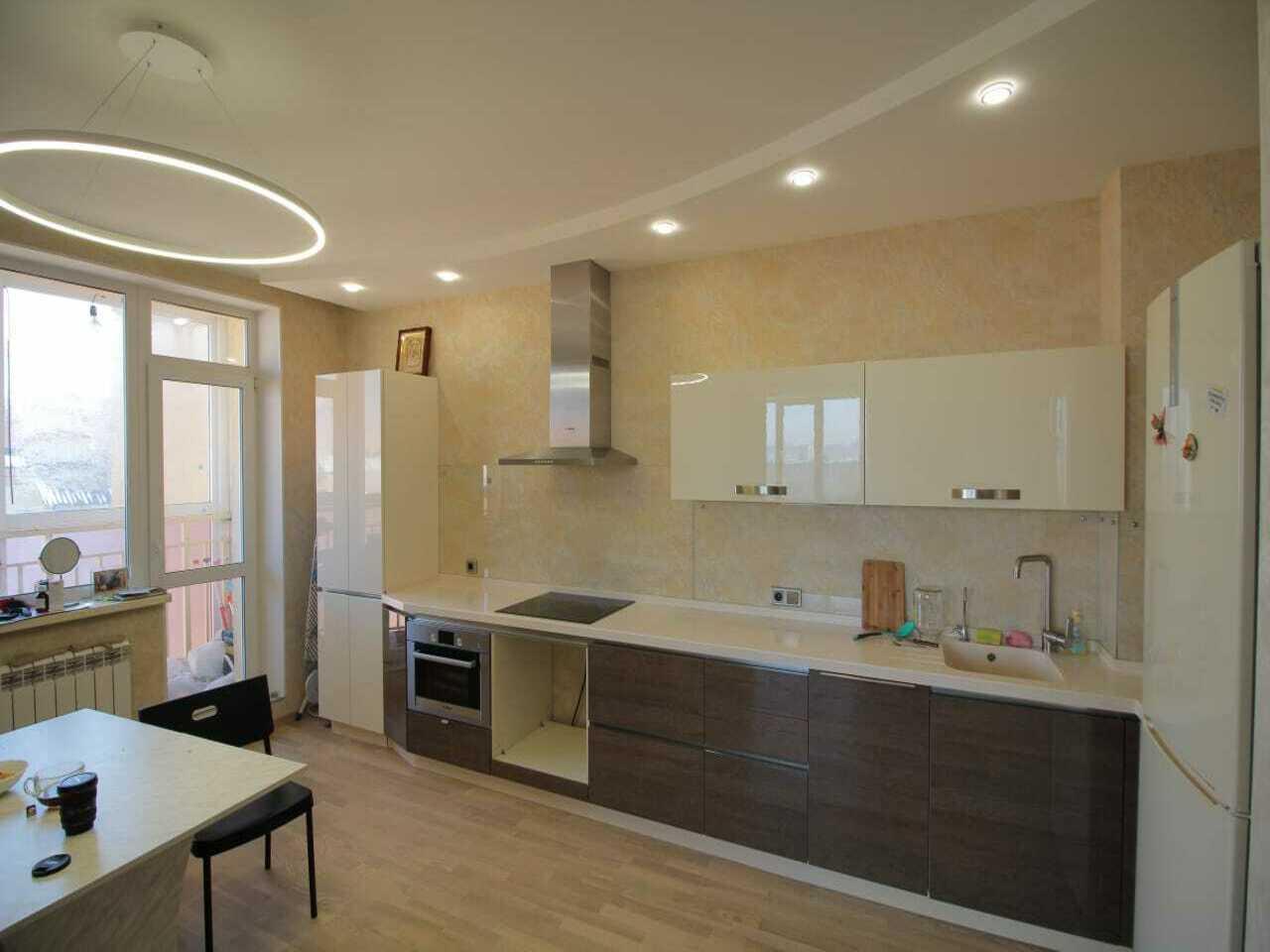 Дизайн-проект кухонной зоны