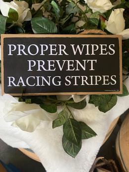 Proper wipes