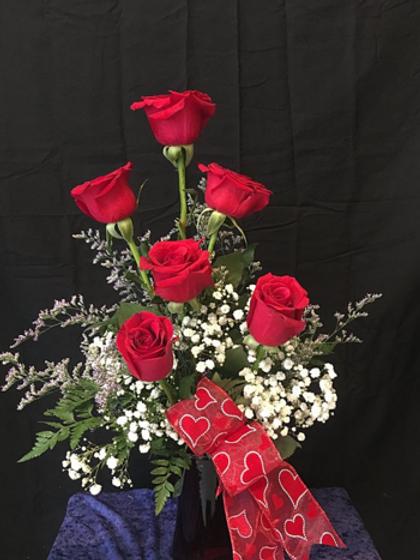 Half Dozen Roses #747