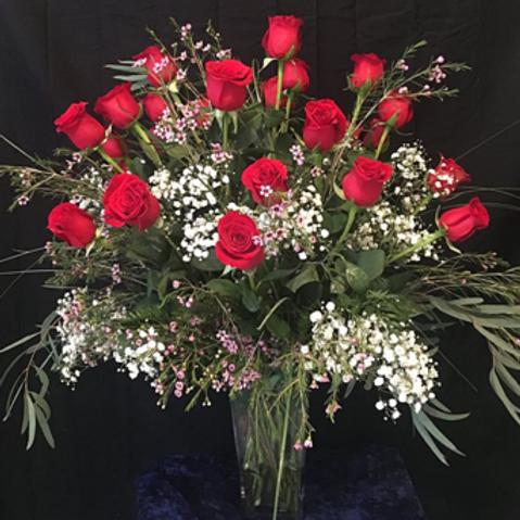 Deluxe 2 Dozen Roses #752