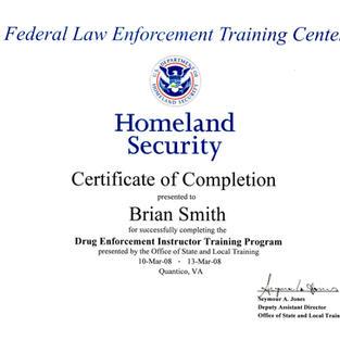 FLETC, drug enforcement instr. 2008.jpg