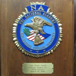 FBI National Academy Award 1996