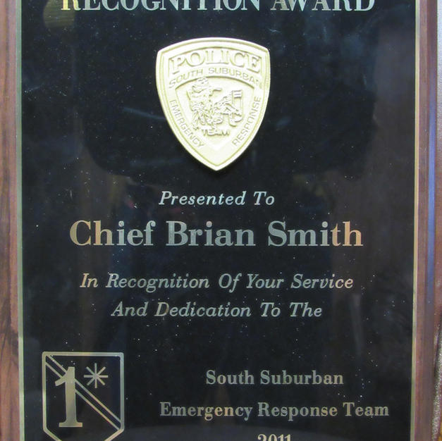 Recognition Award 2011