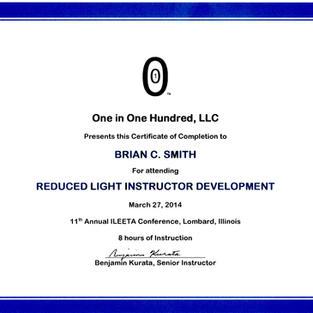 Reduced Light Instructor Development, Ma